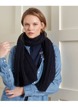 SUPERDRY LANNAH CABLE SCARF SJAAL