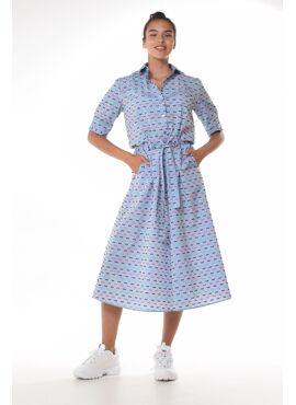 MAGDALENA DRESS MAGNOLIA BOW
