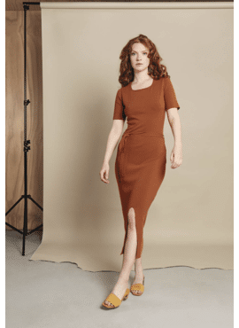 RHUMAA DRESS FEEL GINGER
