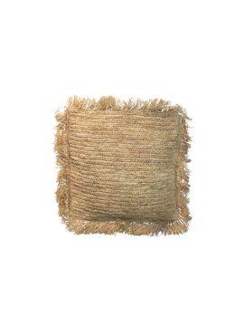Raffia cushion - M