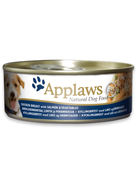 Applaws DOG CANS Chicken Salmon & Rice 156 gr.