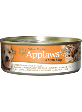 Applaws DOG CANS JELLY Chicken & Duck 156 gr.