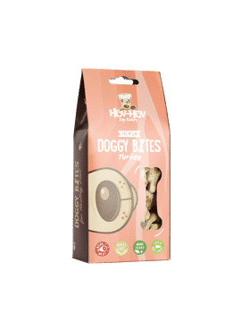 Dog Organic Biscuits - Doggy Bites - Turkey