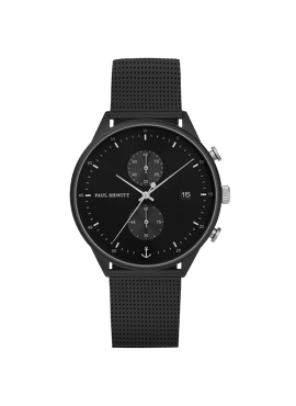 CHRONO BLACK SUNRAY IP BLACK/SS