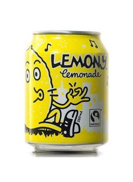 Lemony Lemonade BIO Fairtrade 250ml - blik