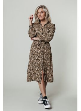 KERA leopard maxi dress