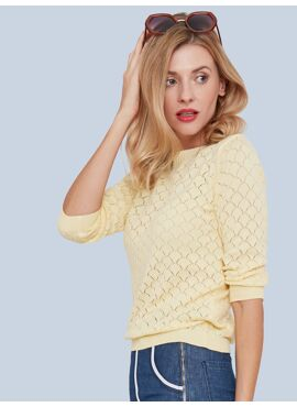 Staying Up Knit Top
