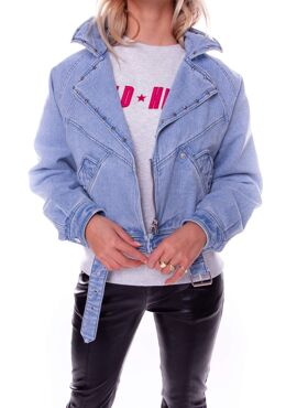 Rex Denim Biker Jacket