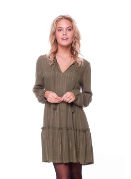 Abby Lurex A-line Boho Dress