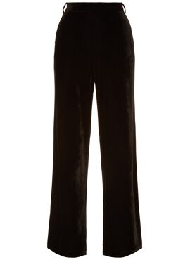 If You Please velvet broek