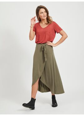 Jannie skirt overslagrok