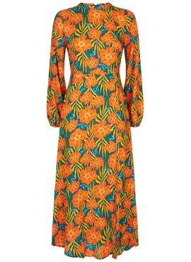 Dalliance Dress Tropische Bloemen