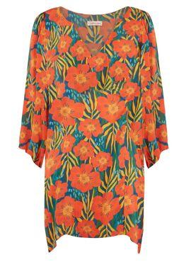 Moments Dress Tropische Bloemen