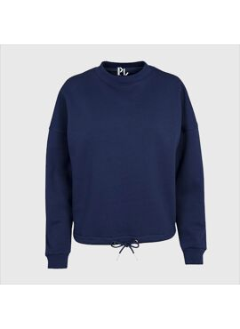 Basic sweater met koordje