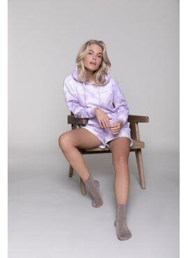 Tie Dye Hoodie Lilac