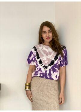 Tie dye oversized t-shirt