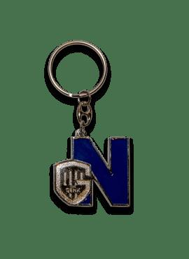 Sleutelhanger - letter N