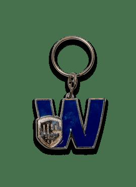 Key chain - letter W