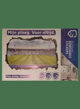 Muursticker - stadion