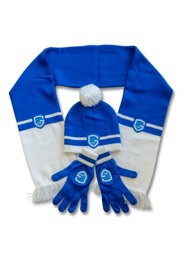Set kids - sjaal, muts, handschoen