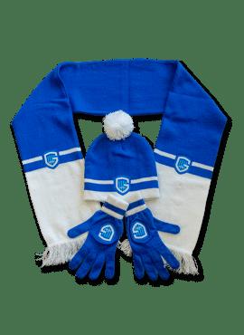 Set volw - sjaal, muts, handschoen