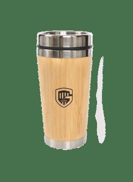 Travel mug bamboo