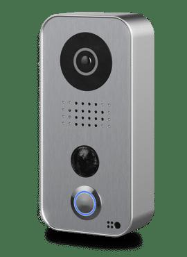 D101S, Videofoon opbouw, polycarbonaat, zilver