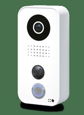 D101, Videofoon opbouw, polycarbonaat, wit