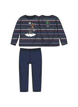 Woody Jongens Pyjama Multicolor Gestreept