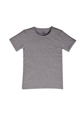 Woody Jongens T-shirt Korte Mouw Grijs Melange