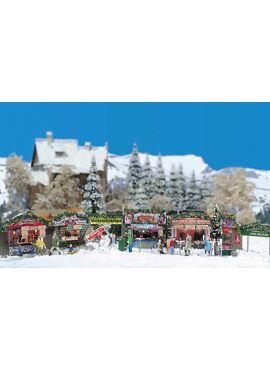 BUSCH 1059 / Weihnachtsmarkt H0