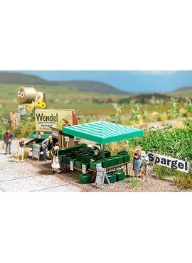BUSCH 1074 / Spargel-Verkauf H0