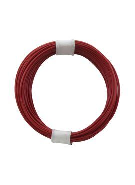 draad 0,04 mm² / 10 m rood