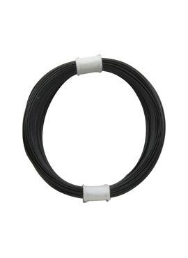 draad 0,04 mm² / 10 m zwart