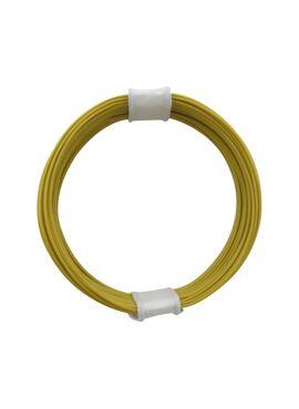 draad 0,04 mm² / 10 m geel