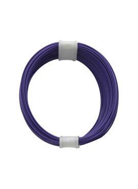 draad 0,04 mm² / 10 m violet