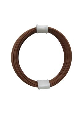 draad 0,04 mm² / 10 m bruin