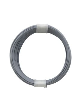 draad 0,04 mm² / 10 m grijs
