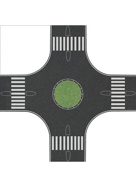 BUSCH 1101 / Kreisverkehr H0