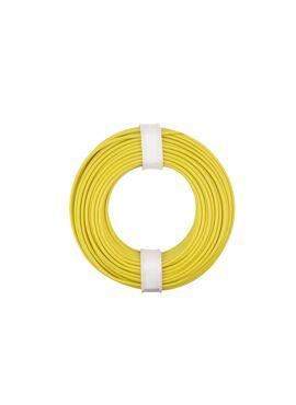 Gele draad 0.25 mm² x 10 m