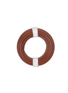 bruine draad 0.25 mm² x 10 m