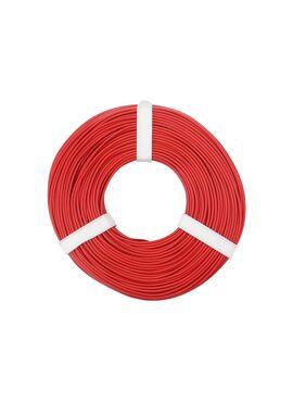 rode draad 0.25 mm² x 50 m