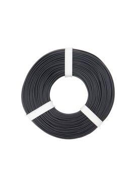 Zwarte draad 0.25 mm² x 50 m