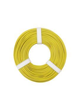 Gele draad 0.25 mm² x 50 m