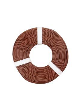 Bruine draad 0.25 mm² x 50 m