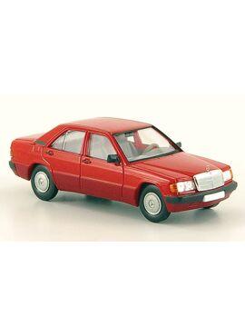 BREKINA 13201 / Mercedes 190E (W201), rood, 1988