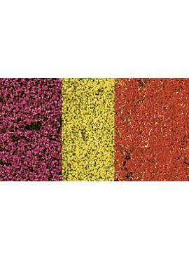 HEKI 1585 / decovlies Blumendecor bunt 28x14 cm