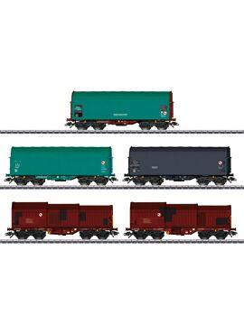 MARKLIN 46875 / Set goederenwagens NMBS