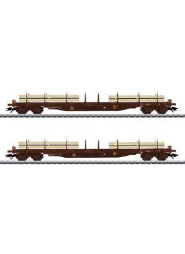 M47150 / Set platte wagens
