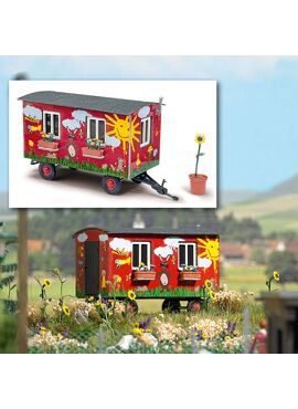 BUSCH 59933 / Anhänger Gartenwagen